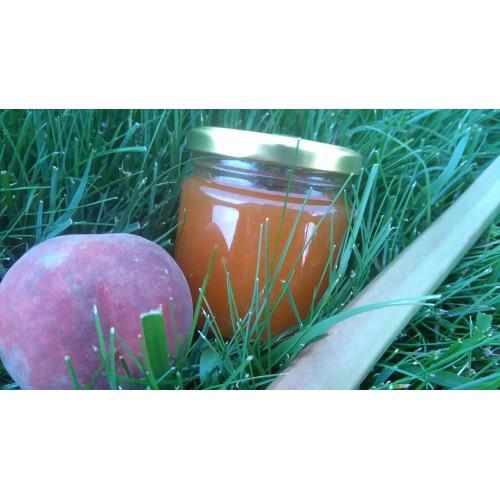 Broskvová marmeláda s rebarborou 210 ml  - zvìtšit obrázek