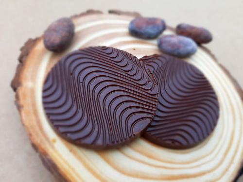 RAW hoøké èokoládové placièky 60% - zvìtšit obrázek
