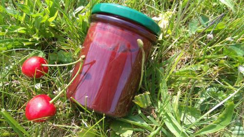 Tøešòová marmeláda s nepraženým kakaem